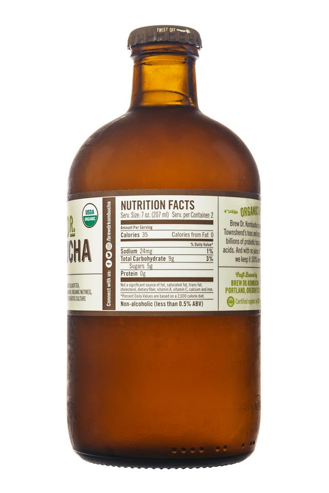 Brew Dr. Kombucha: Townhends-BrewDr-Kombucha-SpicedApple-Facts