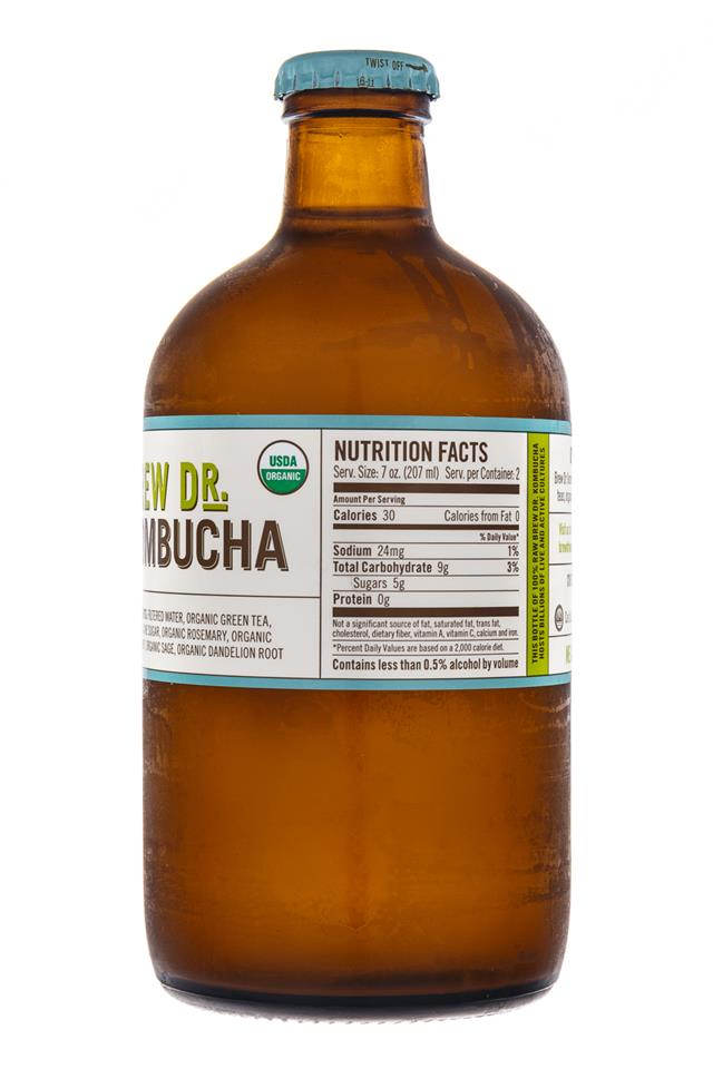 Brew Dr. Kombucha: TownsHendTea-BrewDr-ClearMind-Facts