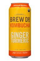 BrewDr-16oz-Kombucha-GingerTurmeric-Front