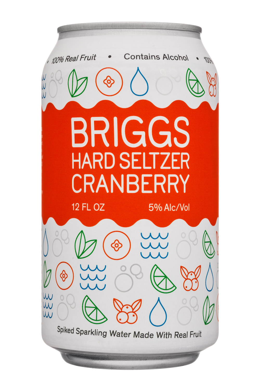 Briggs: Briggs-12oz-HardSeltzer-Cranberry-Front