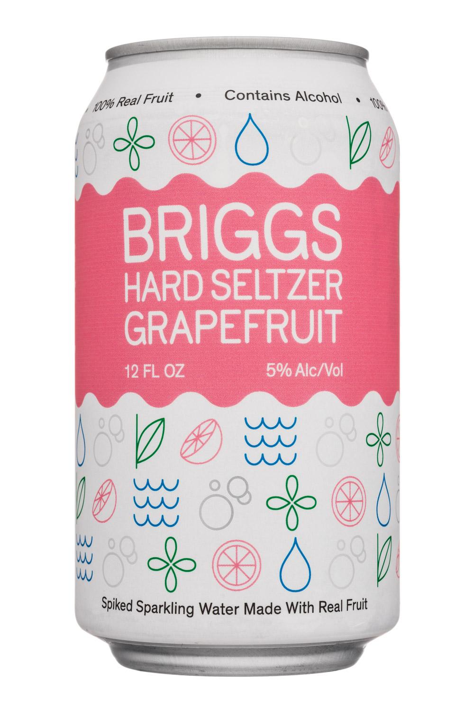 Briggs: Briggs-12oz-HardSeltzer-Grapefruit-Front