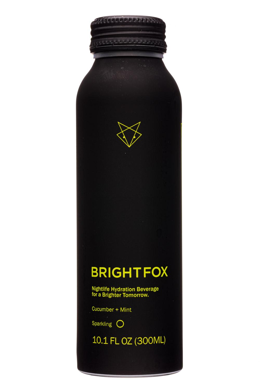 BrightFox : BrightFox-10oz-2020-Sparkling-CucumberMint-Front