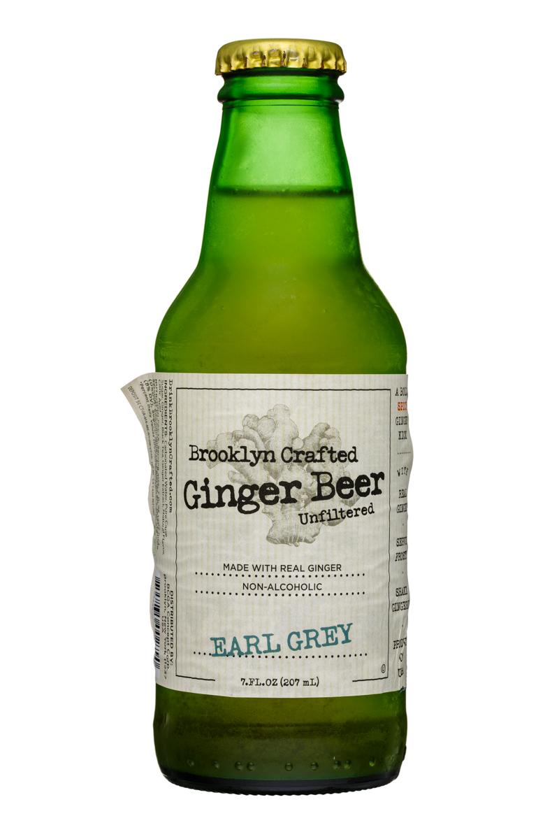 Brooklyn Organics Craft Ginger Ale: BruceCost-7oz-GingerBeer-EarlGrey-Front