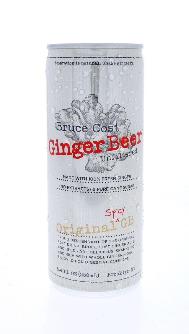 Fresh Ginger Ginger Ale by Bruce Cost: BruceCost Ginger Front