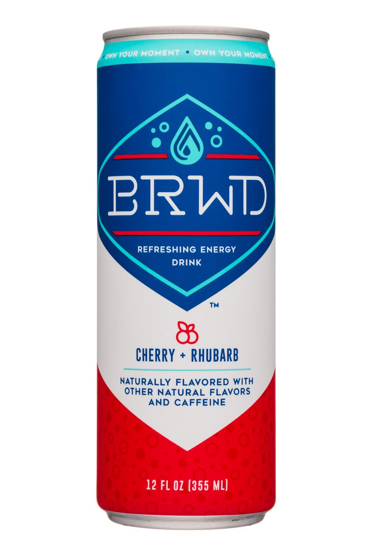 BRWD: BRWD-12oz-EnergyDrink-CherryRhubarb-Front