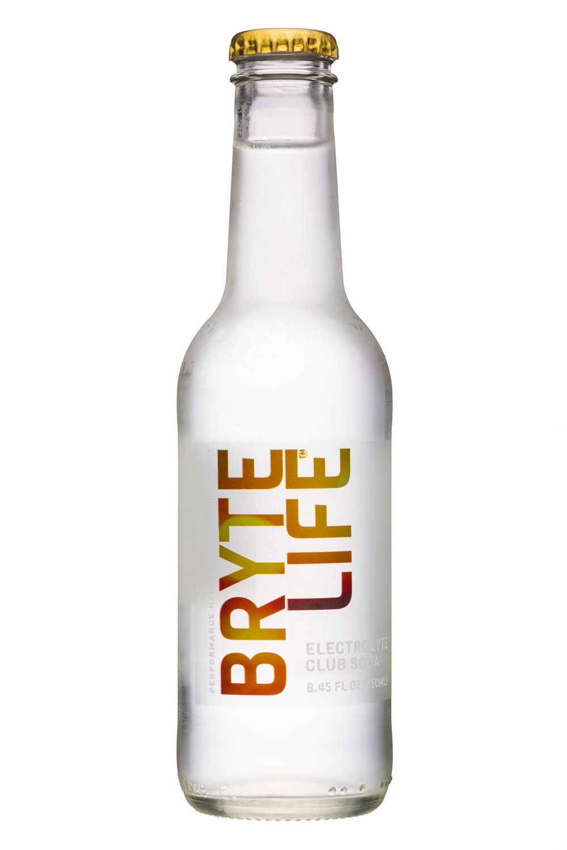 BryteLife: BryteLife-8oz-ElectrolyteClubSoda-Front