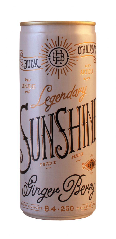Buck O'Hairen's Legendary Sunshine: BuckOHairens Front