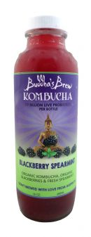 Buddha's Brew Kombucha: BuddhaBrew BlackSpear Front