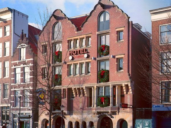 Bulldog Energy Drink: The Bulldog Hotel in Amsterdam, The Netherlands
