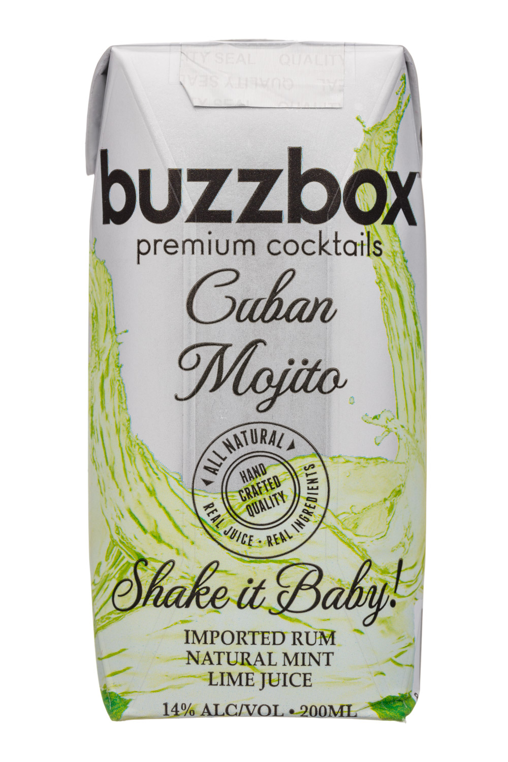 BuzzBox: Buzzbox-200ml-Cocktail-CubanMojito