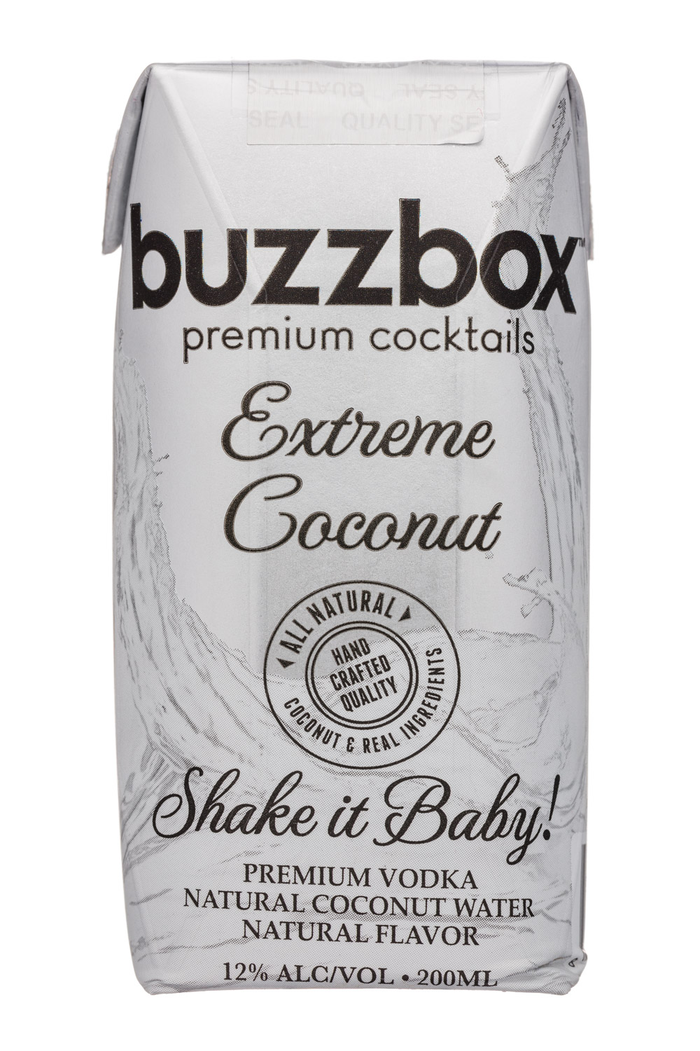 BuzzBox: Buzzbox-200ml-Cocktail-ExtremeCoconut