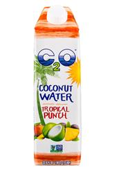 C2O Pure coconut Water Tropical Punch 33.8 (2017)