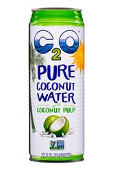 C2O Pure coconut Water w/ coconut pulp (2017)
