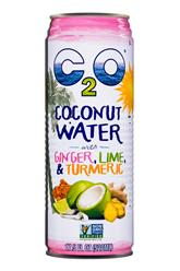 C2O Pure coconut Water w/ Ginger, Lime, & Turmeric 17.5 (2017)