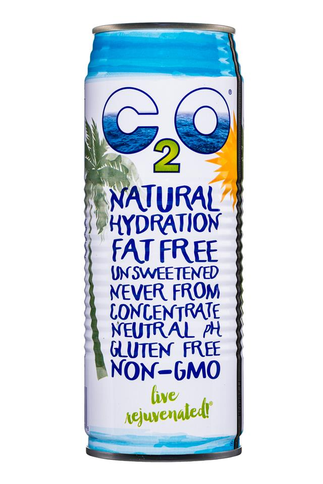 C2O Pure Coconut Water: C20-17oz-CoconutWater-Pure-Front