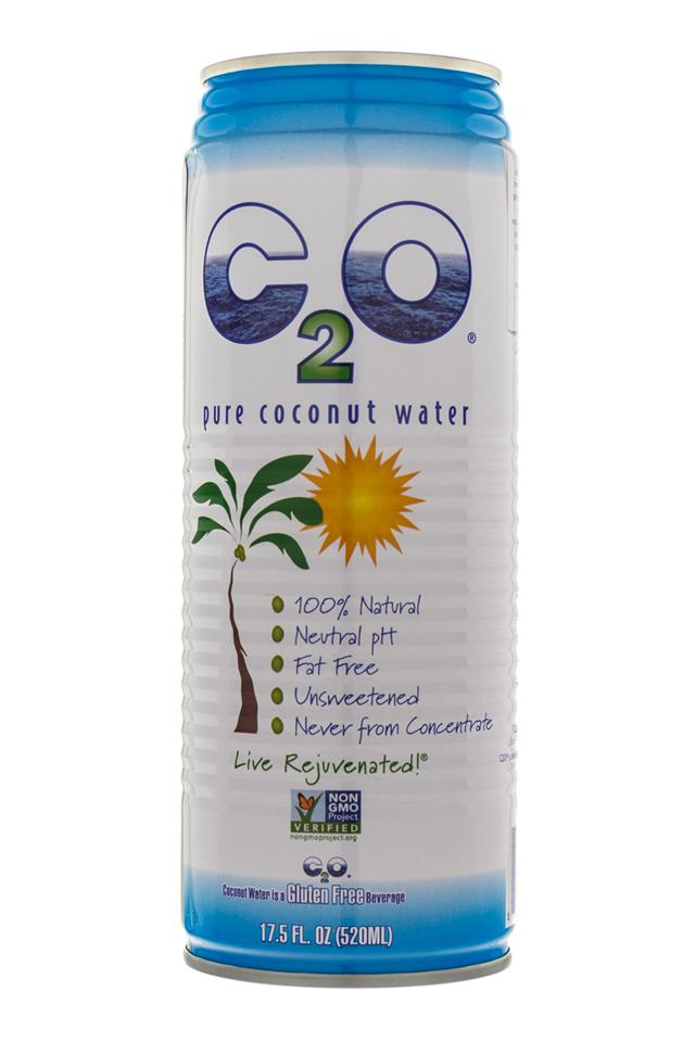 C2O Pure Coconut Water: C20-CoconutWater-Front