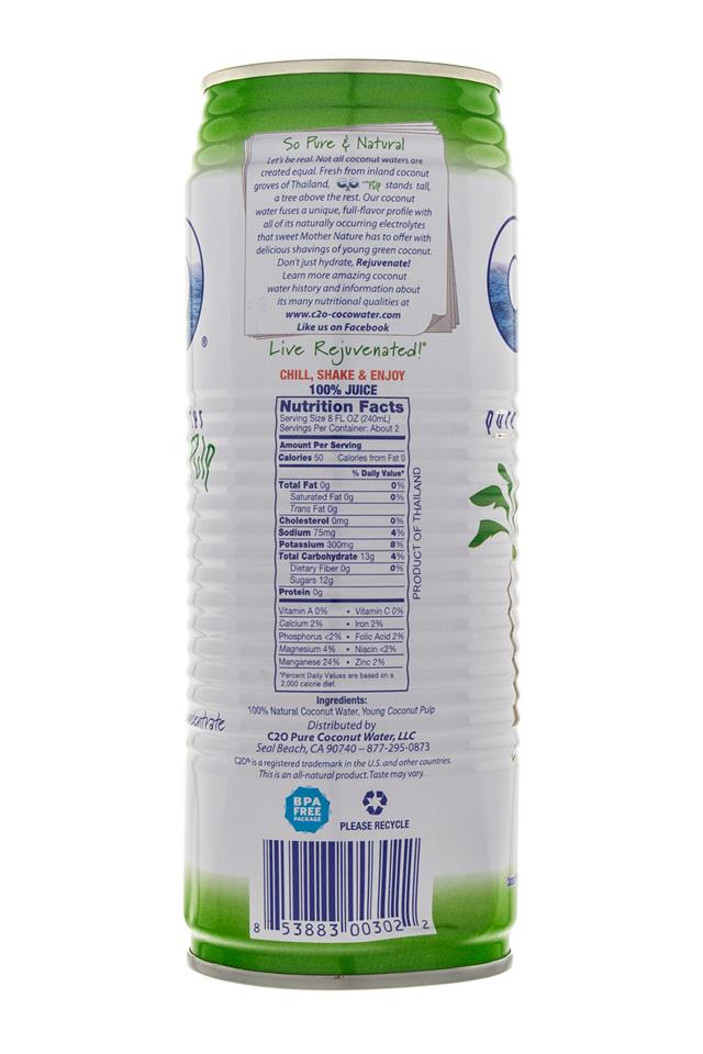 C2O Pure Coconut Water Image