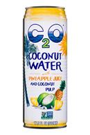 C2O Pure Coconut Water: C20-17oz-CoconutWater-Pineapple-Front