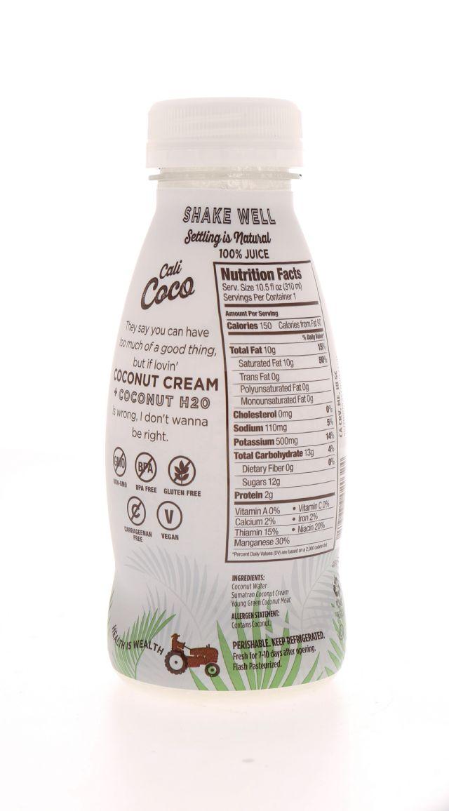 Cali Coco: Califia WholeCoco Facts