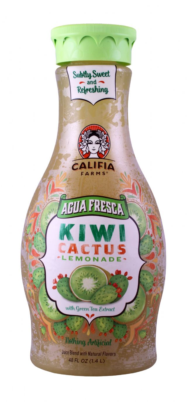 Califia Farms Agua Fresca: Califia KiwiCactus Front