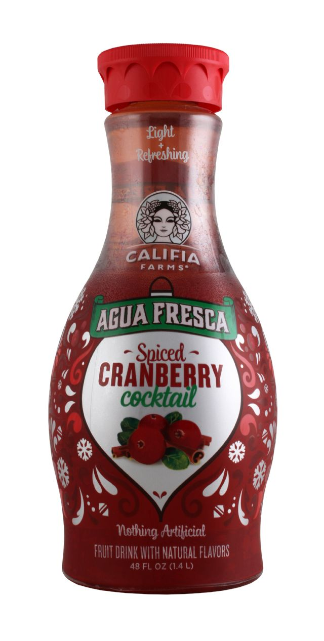 Califia Farms Agua Fresca: Califia SpiceCran Front