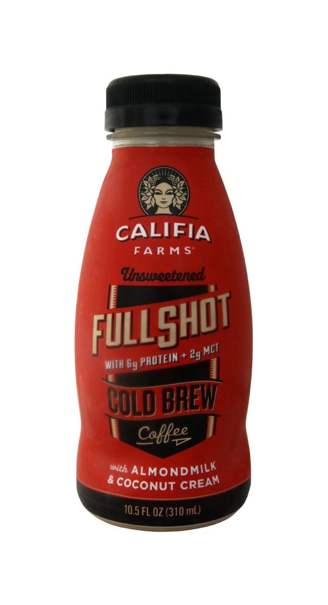 Califia Farms Cold Brew Coffee: Califia FullShot Front