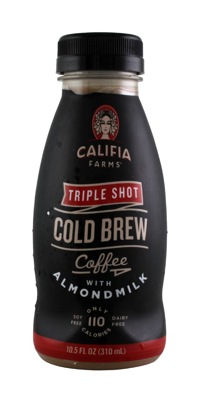 Califia Farms Cold Brew Coffee: Califia TripleShot Front