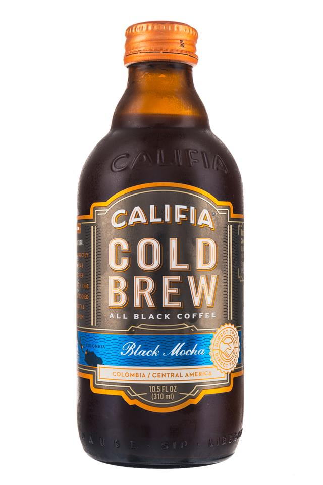 Califia Farms Cold Brew Coffee: Califa-ColdBrew-10oz-BlackMocha-Front