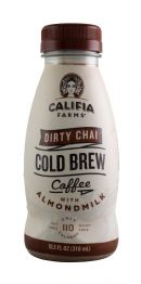 Califia Farms Cold Brew Coffee: Califia DirtyChai Front