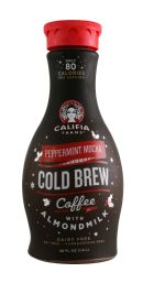 Califia Farms Cold Brew Coffee: Califia PeppMochaColdBrew Front