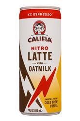 Nitro Latte with Oatmilk