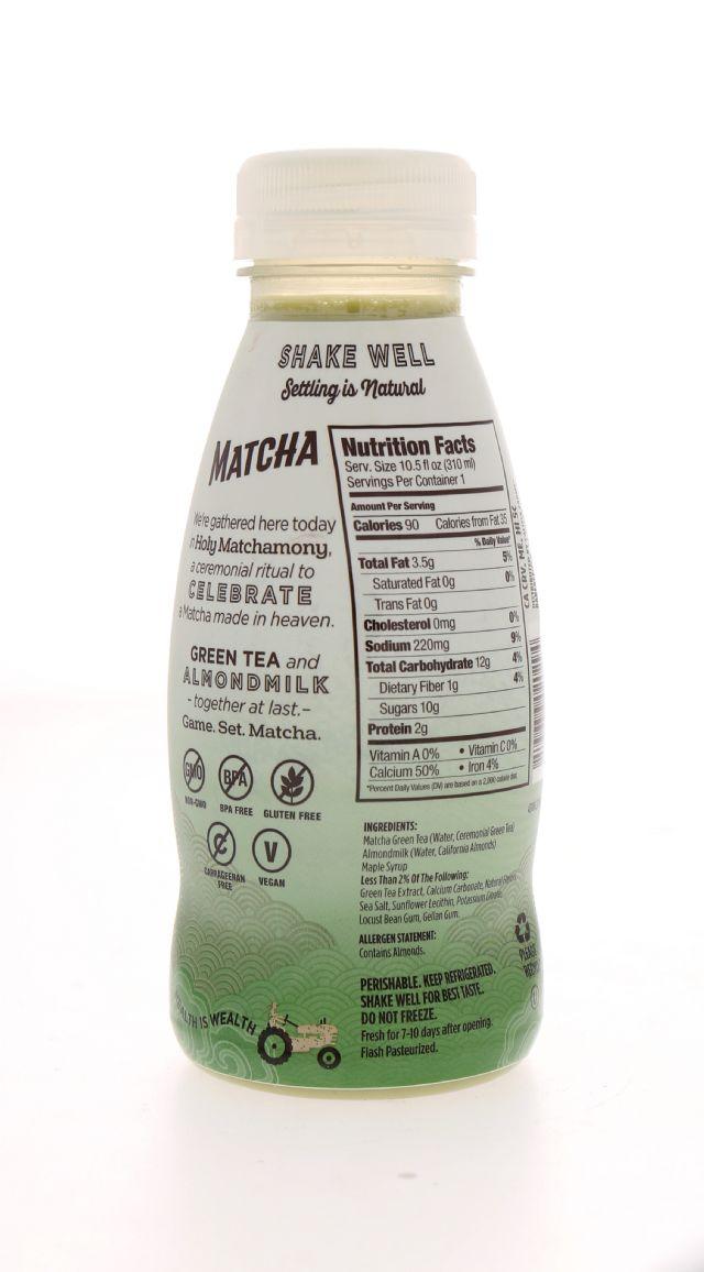 Califia Farms Almond Milk: Califia GreenTea Facts