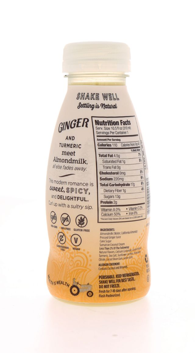 Califia Farms Almond Milk: Califia Ginger Facts