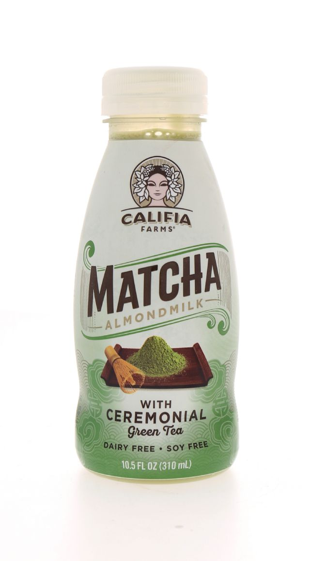 Califia Farms Almond Milk: Califia GreenTea Front