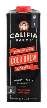 Concentrated Cold Brew Coffee