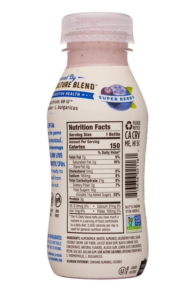 Califia Farms: Califia-8oz-YogurtDrink-SuperBerry-Facts