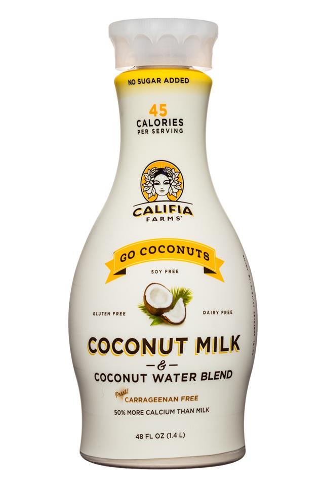 Califia Farms: Califia-CoconutMilk-48oz-GoCoconuts-Front