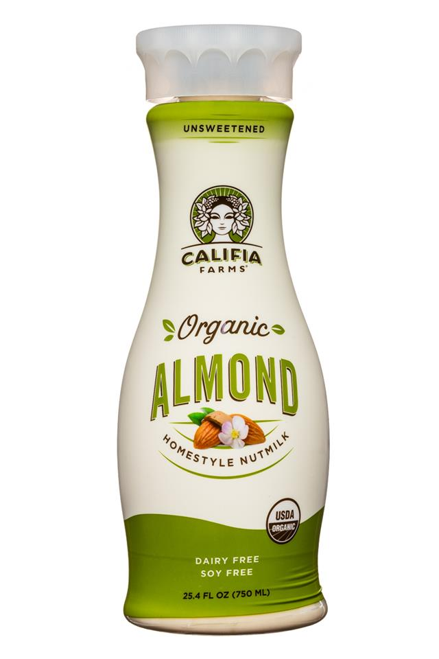Califia Farms: Califia-Organic-HomestyleNutmilk-25oz-Almond-Front