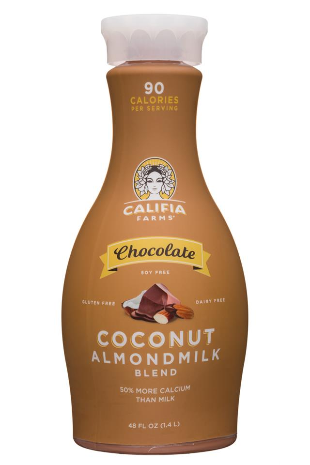 Califia Farms: Califia-48oz-CoconutAlmondmilk-Choc-Front