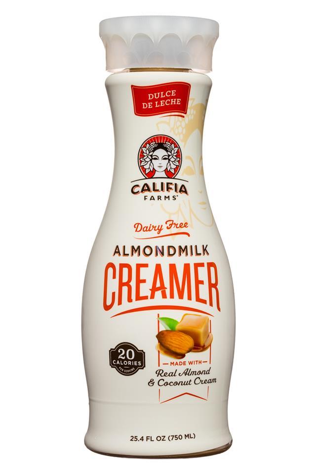 Califia Farms: Califia-Almondmilk-Creamer-25oz-DulceDeLeche-Front