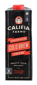Califia Farms Cold Brew Coffee: Califia ColdBrew Front