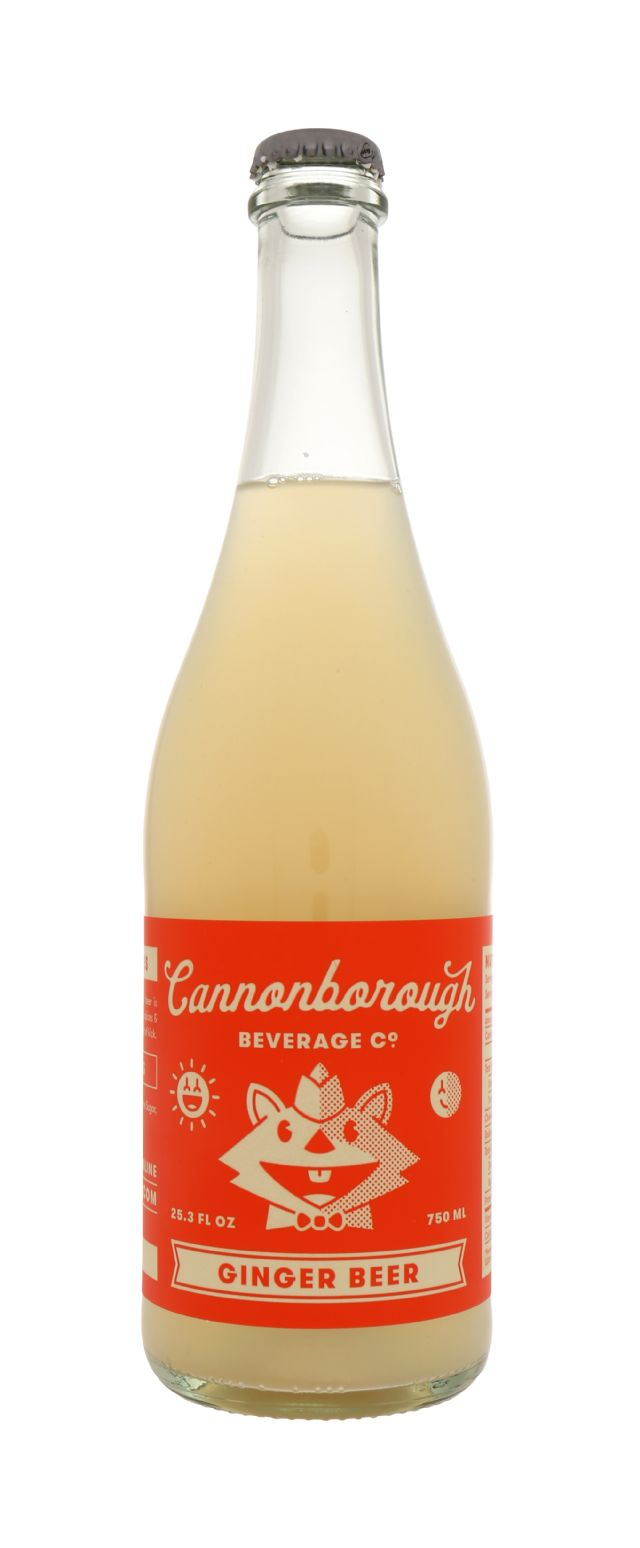 Cannonborough Beverage Co: Cannonborough GingerBeer Front