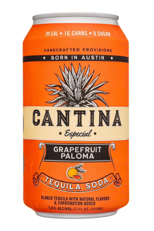 Cantina : CantinaEspecial-12oz-2021-TequilaSoda-GrapefruitPaloma