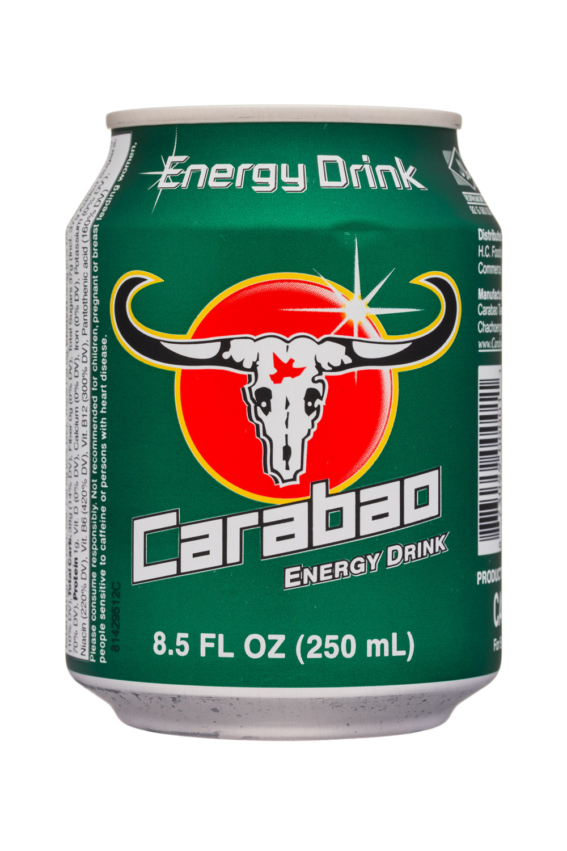 Carabao Energy Drink - new label