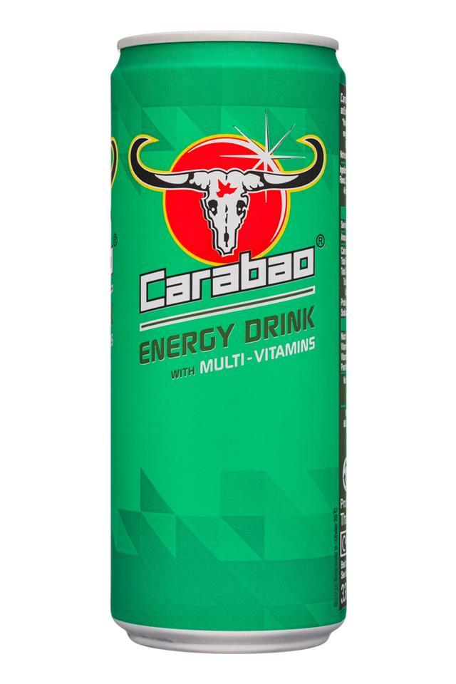 Carabao Energy Drink: Carabao-330ml-Energy-MultiVit-Front