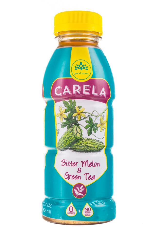Carela: CarelaFoods-BitterMelon-GreenTea-Front