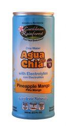 Caribbean Rainforst Agua de Chia: Caribbean PineMang Front
