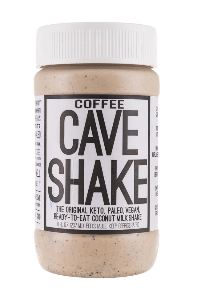 Cave Shake: CaveFoods-CaveShake-8oz-Coffee-Front