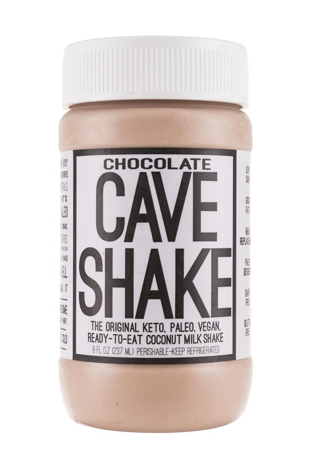 Cave Shake: CaveFoods-CaveShake-8oz-Chocolate-Front