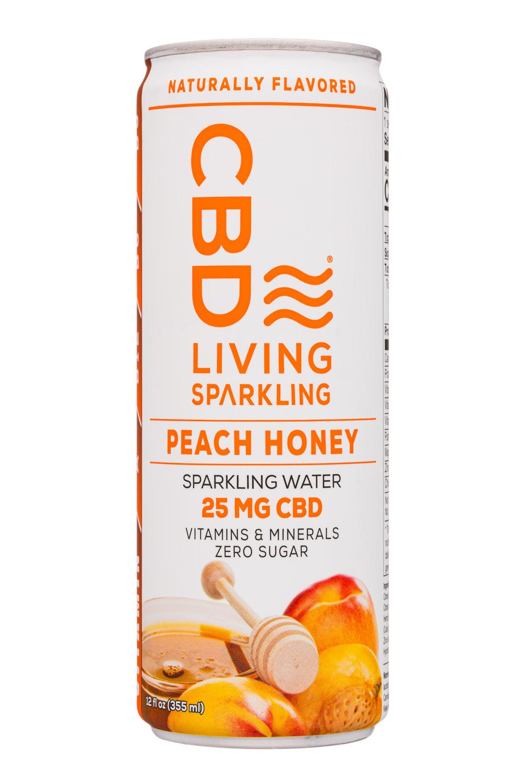 CBD Living Sparkling Peach Honey